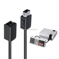 Black 1.8M Extented Extension Cable for Mini NES Classic Edition Console