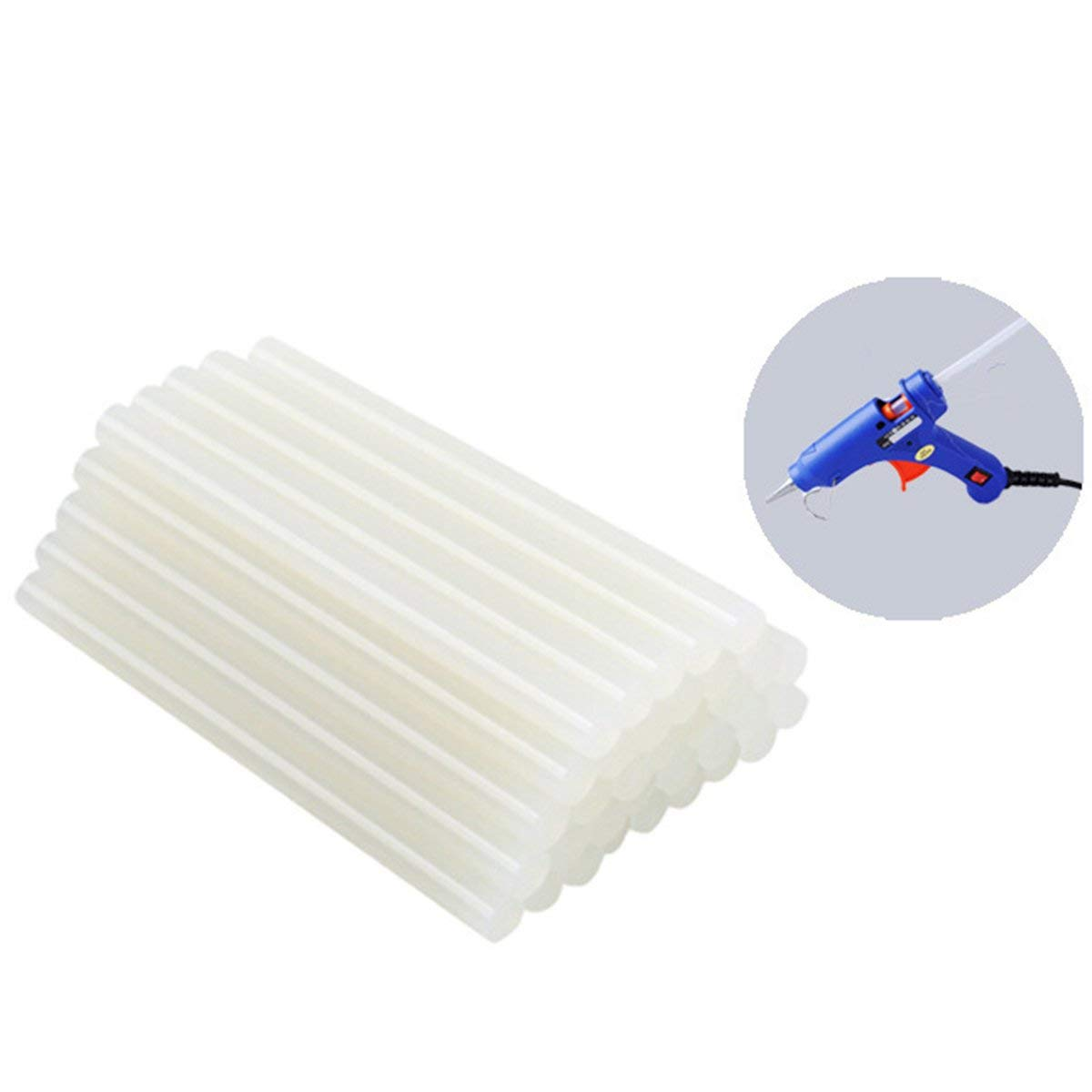 THIS IS -11 mm Multiply by 300 mm Translucent, Smooth,Industrial, DIY Hot Melted glue for Gun , Environmentally Friendly Hot Melt Adhesive Multi - purpose GLUE