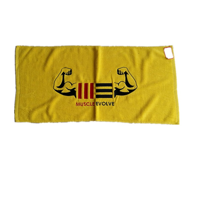 high quality and healthy cotton stripe face towel sport 100 cotton towel