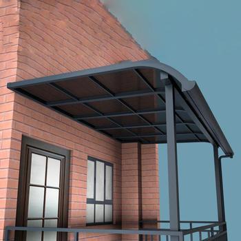 Aluminum Bracket Diy Polycarbonate Sunshade Patio Terrace Awning Buy Terrace Awning Patio Awning Polycarbonate Sunshade Awning Product On