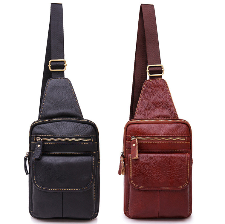 Hot Selling Genuine Leather Sing Style Wholesale Gym Bag For Men