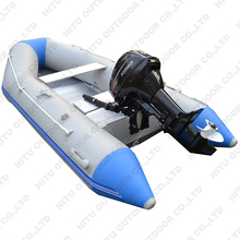 Cheap inflatable boat hypalon or PVC aluminum speed boat with CE certificate