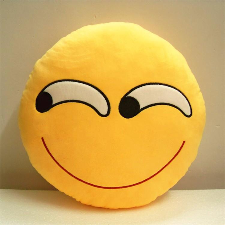 Cheap Wholesale Popular Whatsapp Emoji Pillows Decorative
