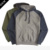 custom wholesale mens hoodies embroidered black and grey polyester cotton hoodies & sweatshirts in bulck for sport wear
