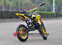 50cc dirt bike semi-automatic Pitbike Minibike Children Bike Pocket bike 4 2 stroke