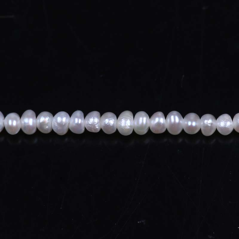 tiny size 1.5-2.0mm natural freshwater pearls potato shape baby pearl strands