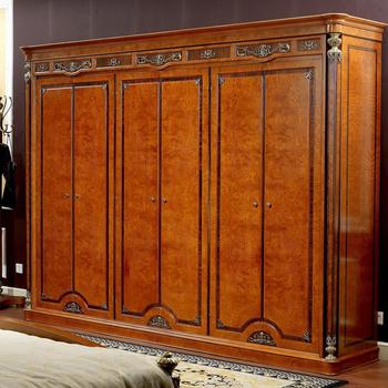 Yb29 Italian Antique Carved Wooden Bedroom Furniture,Large 6 Doors Design  Wardrobe,Luxury Villa Closet - Buy Six Door Bedroom Wardrobe Design,Luxury  ...