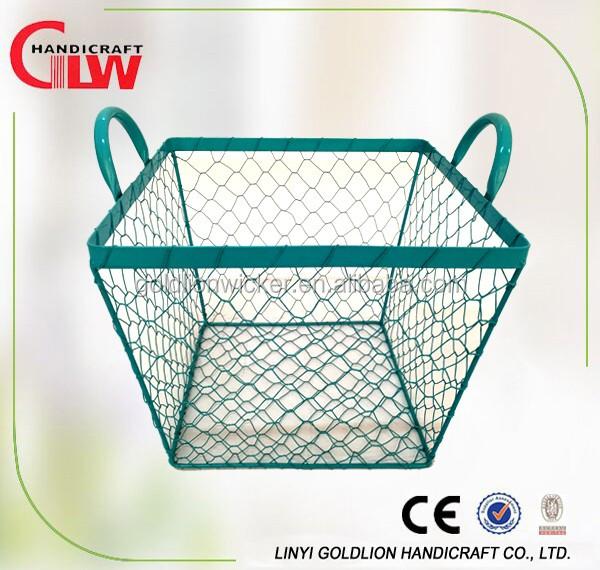 Decorative Metal Handle Basket, Decorative Metal Handle Basket ...