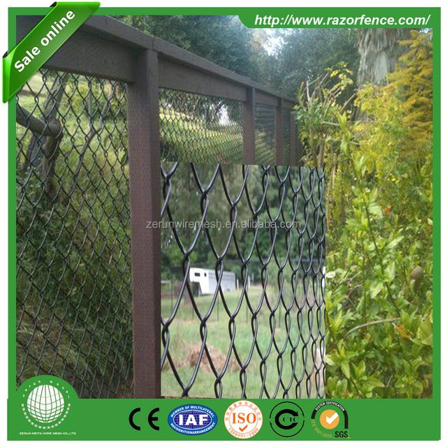 Outdoor Artificial Retractable Removable Garden Leaf Fence