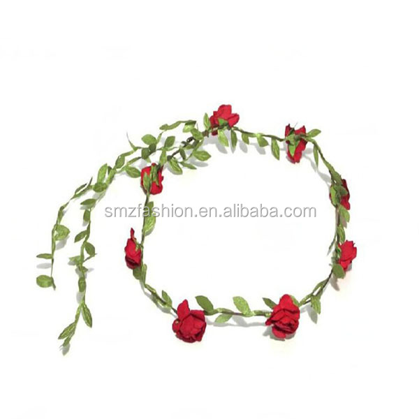 Fabric flowers wholesale wedding hairband