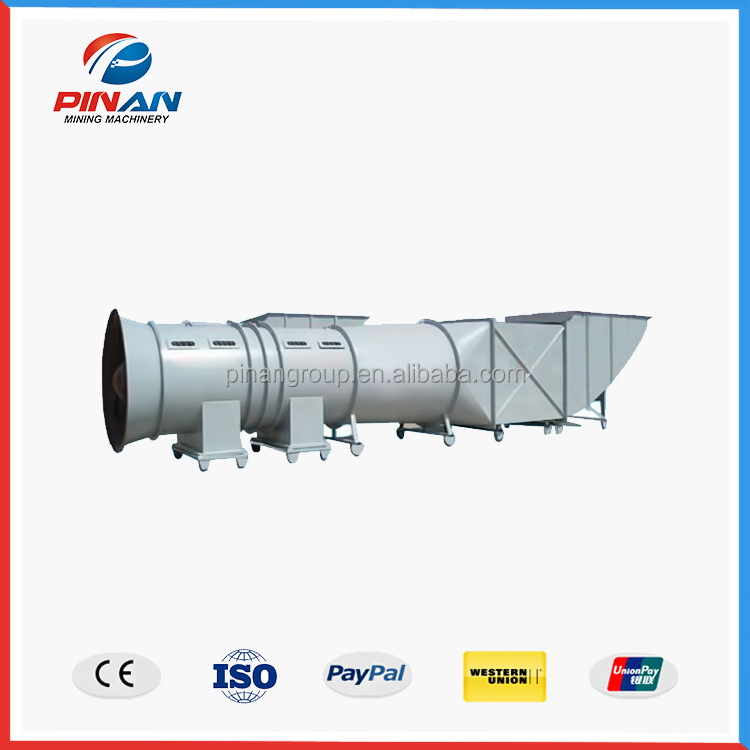 China gold manufacturer economic mine axial ventilator blower fans