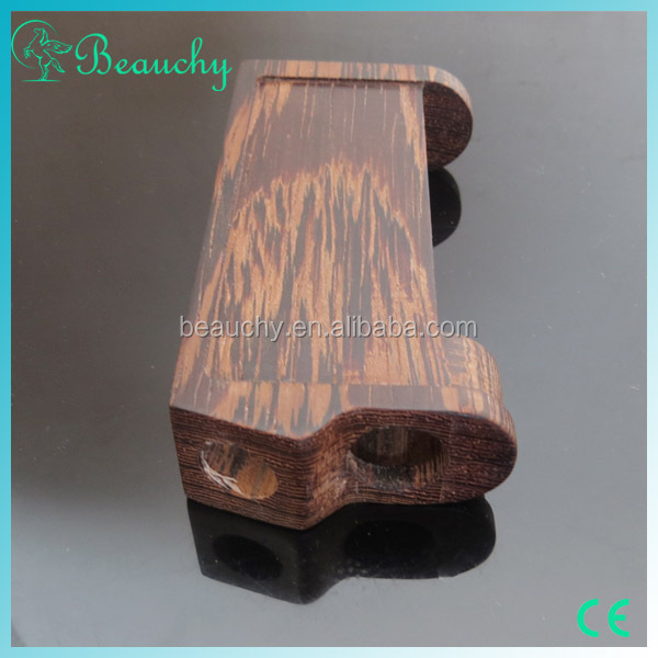 2015 Beauchy new products vapor mod suit for 18650 battery vape wood mod