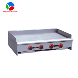 Cooking Equipment Barbecue Grill /Commercial Table Top Gas Griddle/Stainless Steel Flat Plate Grill Griddle