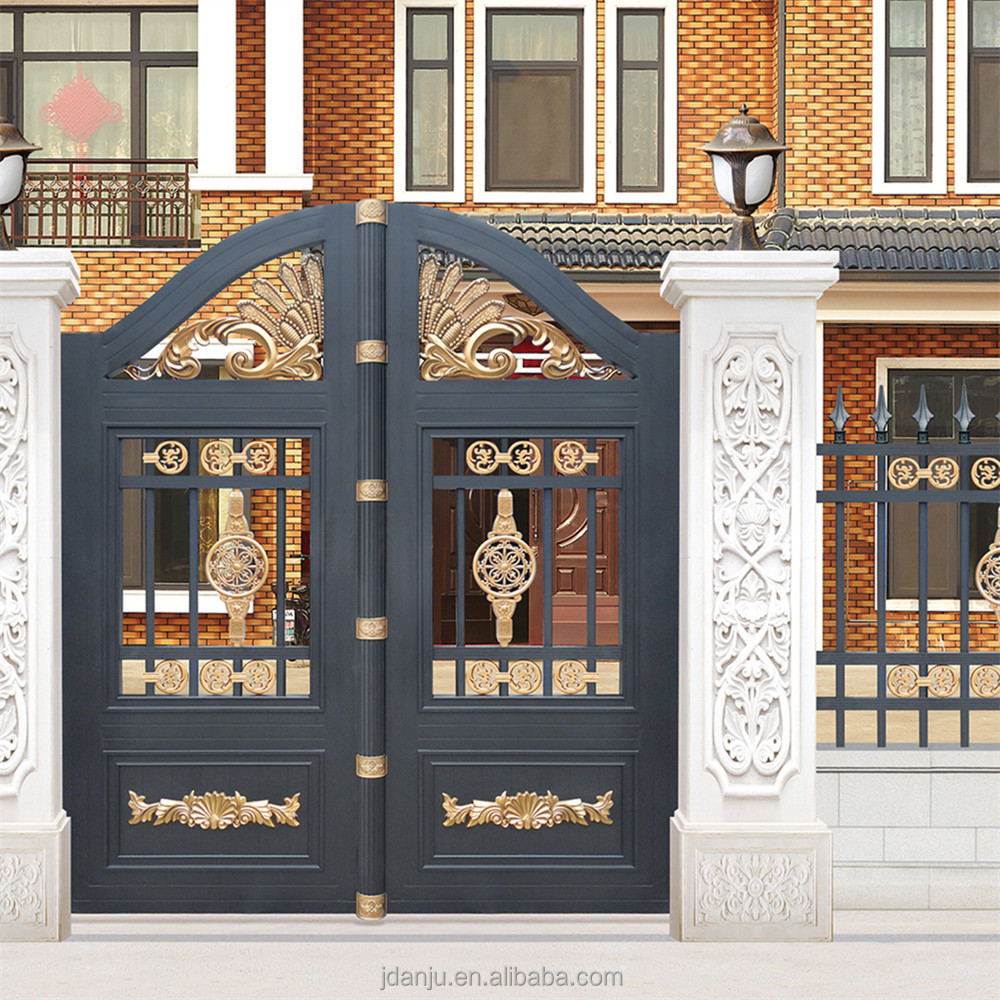 Rome style luxury iron security indian house latest main gate designs