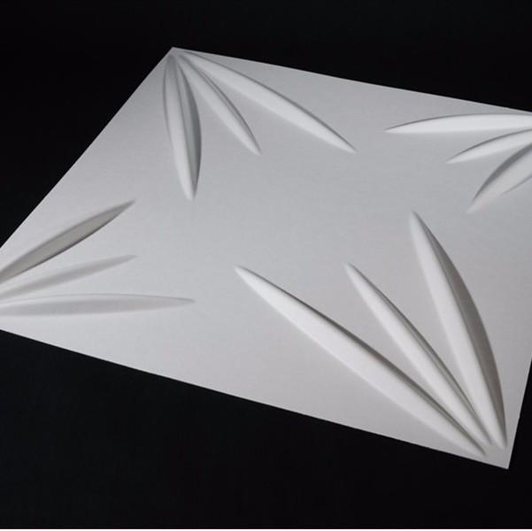 Декоративная доска из силиката кальция с рельефным эффектом