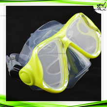 ACE cool style integrated tempered lense dive mask freediving water full face mask