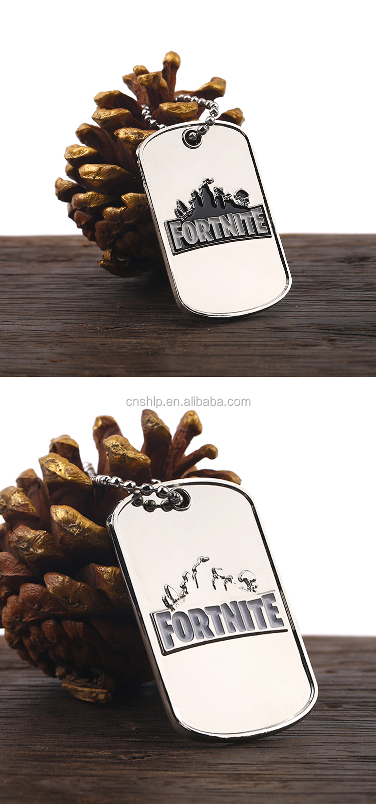 Wholesale Cheap Game Souvenir Enamel Custom Logo Metal Dog Tag