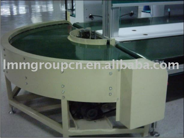 industrial belt and roller stainless steel conveyor equipment system