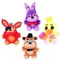 Five Nights At Freddy s 4 Kawaii Fnaf World Freddy Fazbear Bear Foxy Bonnie Chica Plush