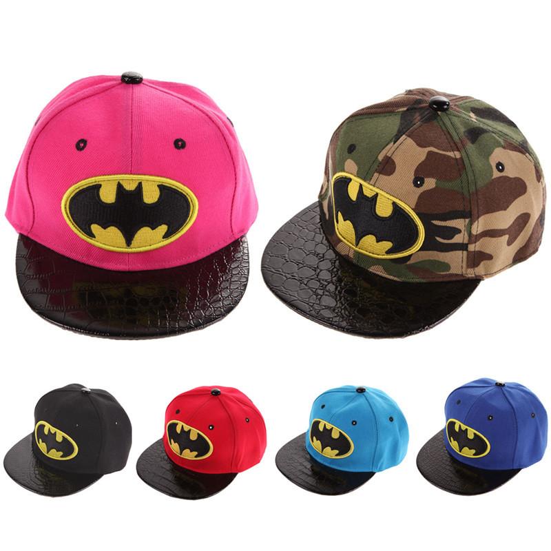 Heroes Batman Hat Letter Fabric Adjustable Baseball Cap Sumshade Hip Hop Hat 100% Original Men's Hats Men's Baseball Caps