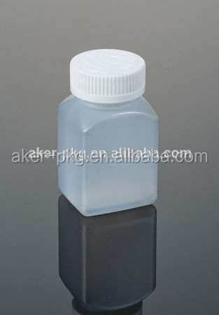 Custom Plastic Square Shoulder Liquid Medicine Bottle Jars,Alcohol ...