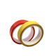adhesive tape For Quality New High Adhesion Industrial Double Sided PET Tape With Red Film Liner