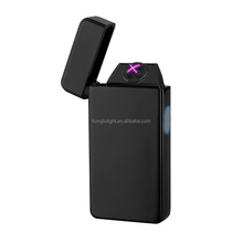 innovate electric usb recharge double arc usb lighter