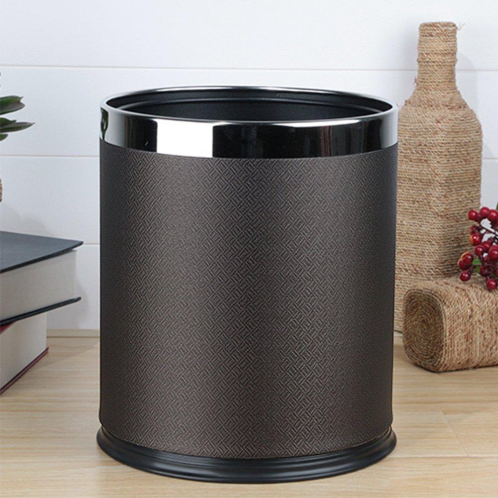 European-style household living room trash can/Kitchen bathroom trash/Creative simplicity trash-M