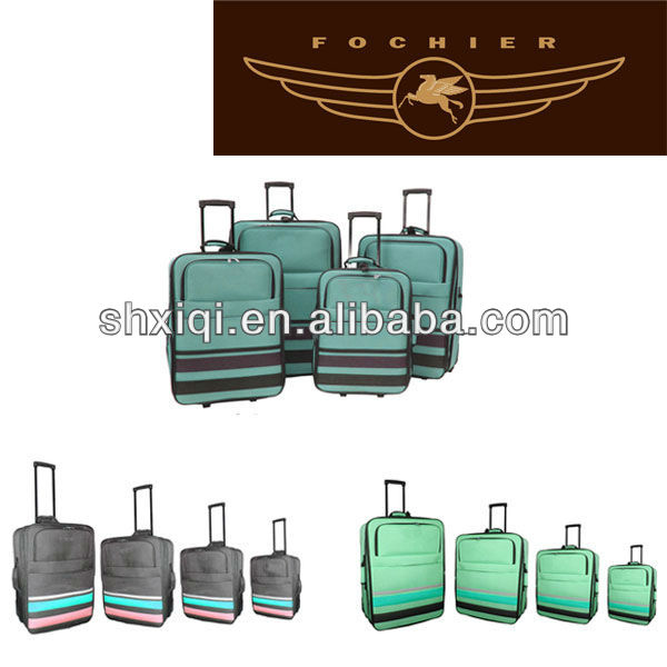 fashion airport baggage trolley suitcases luggage for teenagers