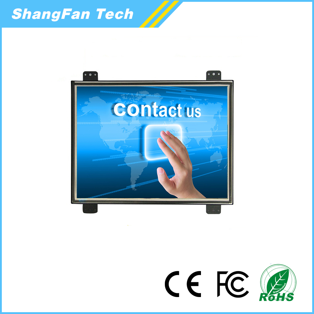Brand New Resolution 1024*768 7 8 10 12 13 14 15 17 inch Touch Open Frame Touch Screen LCD Monitor