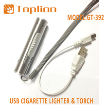 USB Charger Electric Lighter Rechargeable USB Lighter and USB Cigarette Lighter Portable Rechargeable