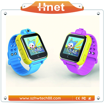 Oem Factory 3g Gsm Gps Smart Watch With Rotatable Camera And Wiki
