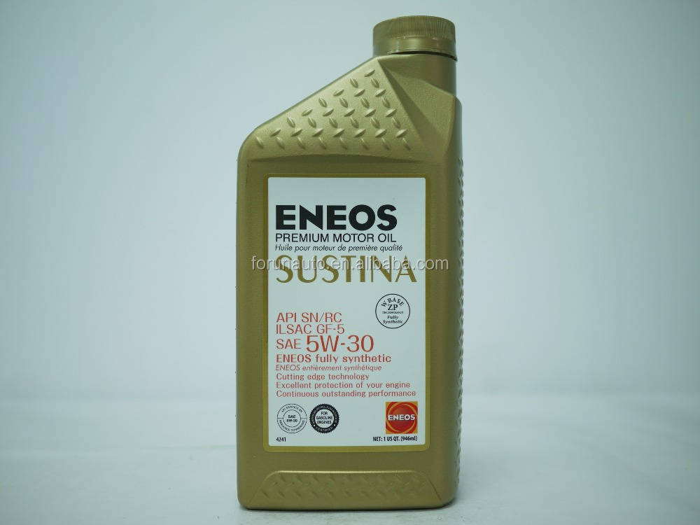 ENEOS API SN SAE 5W-30 Gasoline and diesel share Full synthetic oil