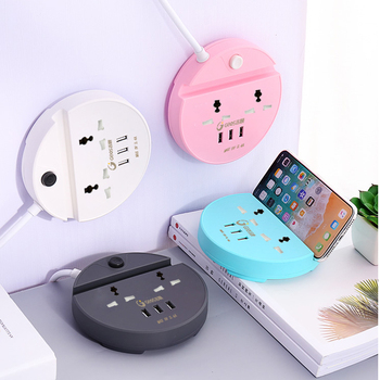 Smart Universal Multi Outlet Power Electrical Extension 3 usb Socket