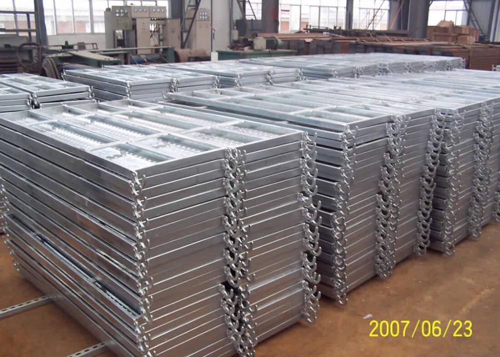 Advanced Walking Scaffolding Boards : Galvanized scaffolding steel plank walk board platform