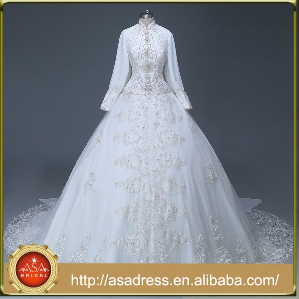 Muslim Wedding Gown, Muslim Wedding Gown Suppliers and Manufacturers ...