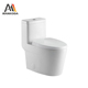Siphonic Toilets UK One Piece Single Flush Sanitary Toilet Seat CUPC Ceramic Bathroom Modern Toilets Bowl