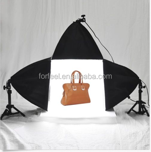 "Photo Studio 16"" Photography Light Tent Backdrop 3x Softboxes Kit Cube"
