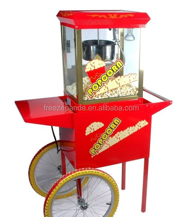 small cart electric commercial popcorn machine popcorn vending machine popcorn machine cart