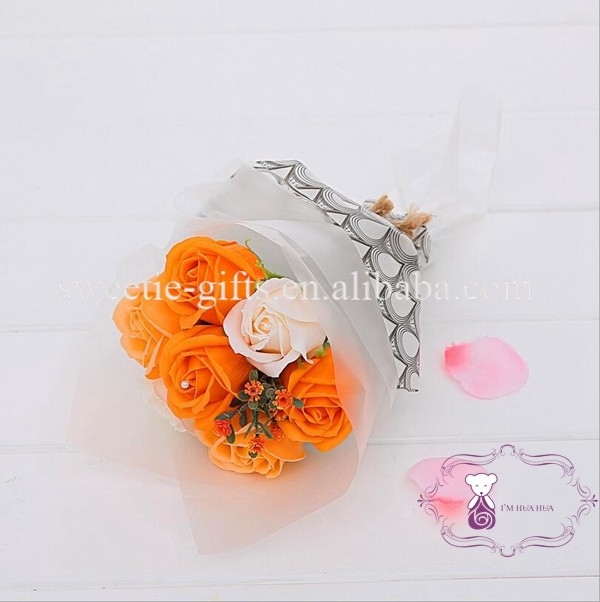 Korea Style Soap Flower Bouquet For Graduation Gift - Buy Soap ...