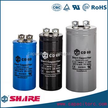 Cd60 Lowes Ac Motor Start Capacitor Price List Of Aluminum Electrolytic
