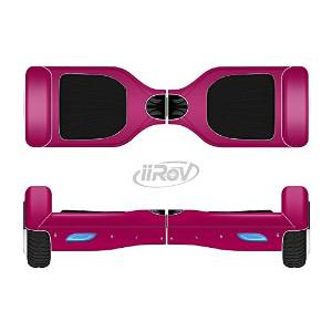 The Solid Dark Pink V2 Full-Body Wrap Skin Kit for the iiRov HoverBoards and other Scooter (HOVERBOARD NOT INCLUDED)