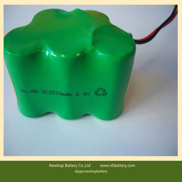 1.2v sc 3500mah nimh rechargeable battery/cell for toy model,vacuum cleaner,DVD