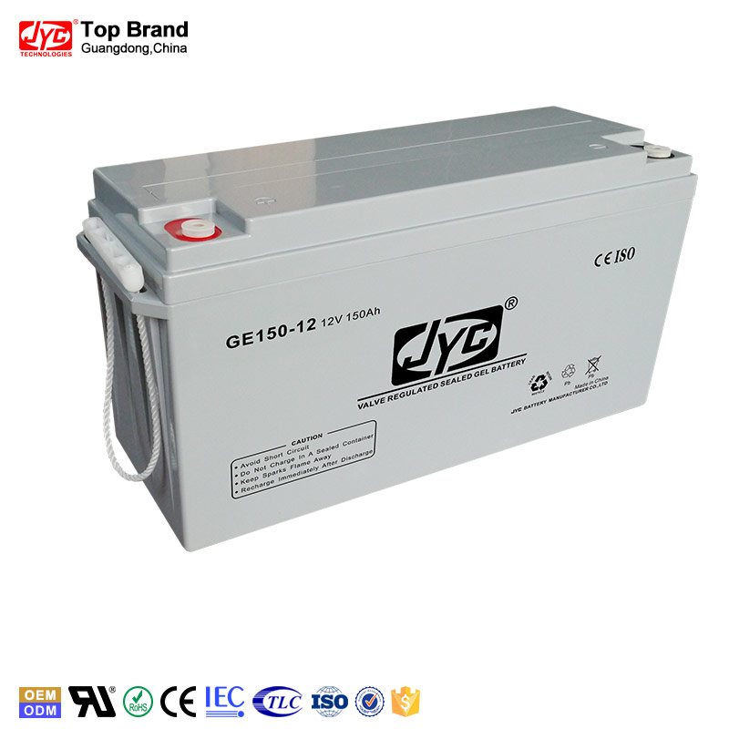 Exceptional quality vrla 150ah 12v slim battery