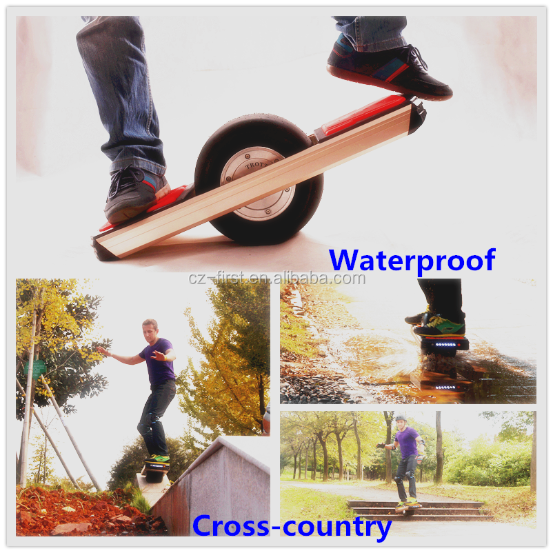 Free-Shipping Off Road Mini Smart One Wheel Electric Scooter Balance China Hoverboard Whoslesale