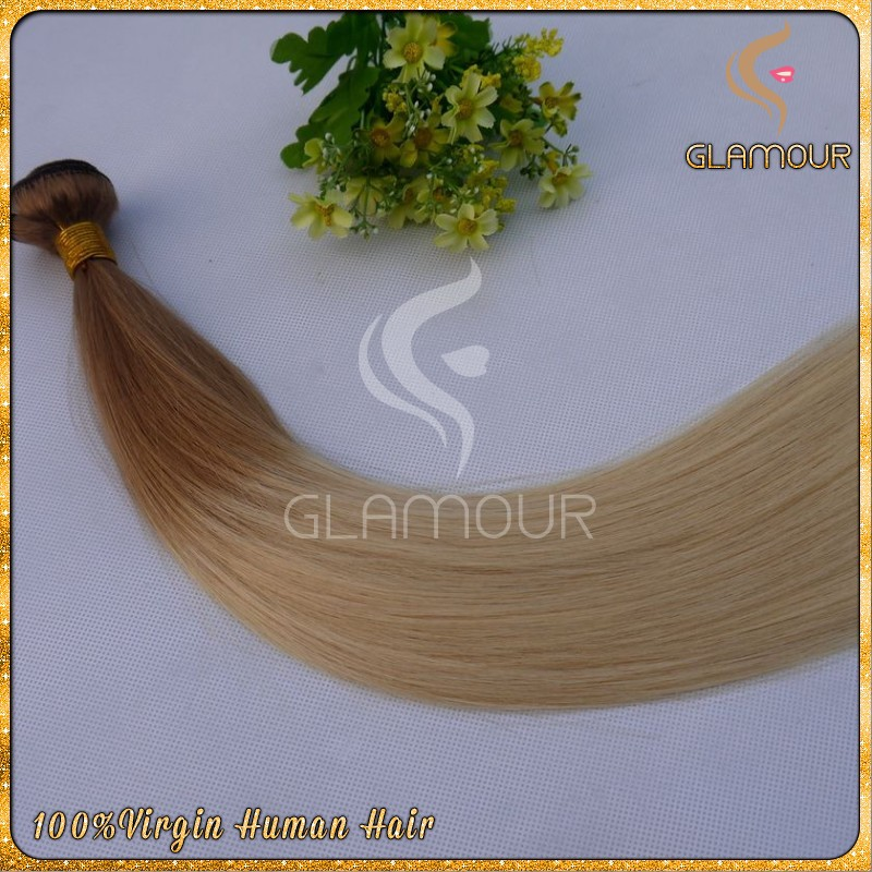 highest quality brazillian two tone human straight hair weave