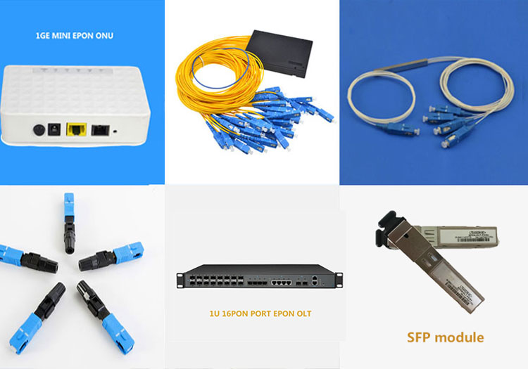 wholesale new design professional 1GE FTTH mini wifi kingtype epon onu with wifi pots catv usb