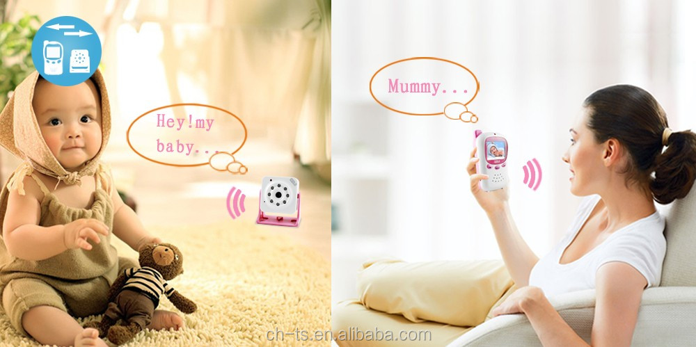 cheap 2.4inch lcd long range communication portable home secure video baby monitor