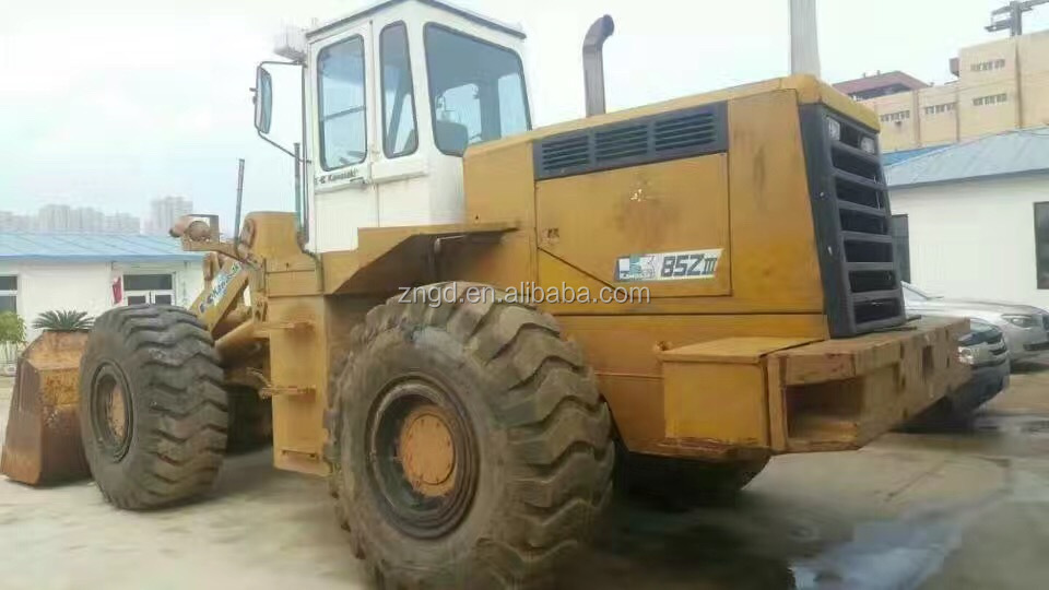 used condition kawasaki 85ZIV 90Z 95Z front loader Kawasaki 85Z wheel loader