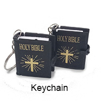 custom religious catholic keychain